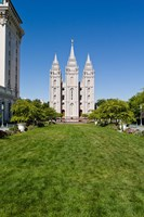 Mormon Temple, Temple Square, Salt Lake City, Utah Fine Art Print