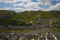 Town at the waterfront, Cochem, Mosel River, Rhineland-Palatinate, Germany by Panoramic Images - various sizes - $54.99