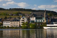 Houses at the waterfront, Traben-Trarbach, Bernkastel-Wittlich, Rhineland-Palatinate, Germany by Panoramic Images - various sizes, FulcrumGallery.com brand