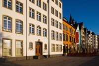 Close Up of Buildings along Frankenwerft Embankment, Cologne, North Rhine Westphalia, Germany by Panoramic Images - various sizes