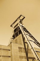 Low angle view of a coal mine, Zollverein Coal Mine Industrial Complex, Essen, Ruhr, North Rhine-Westphalia, Germany by Panoramic Images - various sizes, FulcrumGallery.com brand