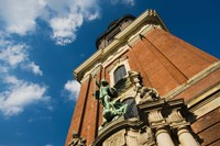 Tower of the St. Michaelis Church, Hamburg, Germany by Panoramic Images - various sizes - $54.99