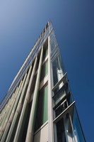 Low angle view of a modern building, 2DF Building, Hamburg, Germany by Panoramic Images - various sizes