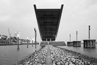 Office building at the waterfront, Dockland Office Building, Elbmeile, Hamburg, Germany by Panoramic Images - various sizes