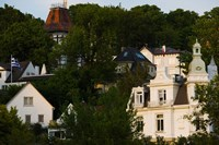 Villas on a hill, Blankenese, Hamburg, Germany by Panoramic Images - various sizes, FulcrumGallery.com brand