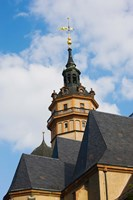Low angle view of a church, Nikolaikirche, Leipzig, Saxony, Germany by Panoramic Images - various sizes, FulcrumGallery.com brand