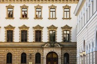 Facade of a palace, Schloss Thurn And Taxis, Regensburg, Bavaria, Germany by Panoramic Images - various sizes, FulcrumGallery.com brand