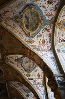 Vaulted ceiling of the Antiquarium, Residenz, Munich, Bavaria, Germany Fine Art Print