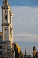 Low angle view of a church, St. Ludwig Church, Ludwigstrasse, Munich, Bavaria, Germany by Panoramic Images - various sizes, FulcrumGallery.com brand