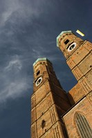 Low angle view of a church, Munich Cathedral, Munich, Bavaria, Germany by Panoramic Images - various sizes, FulcrumGallery.com brand