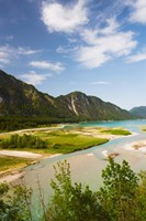 River in a valley, Isar River, Sylvenstein Lake Area, Bavaria, Germany by Panoramic Images - various sizes, FulcrumGallery.com brand
