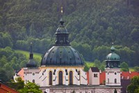 High angle view of a monastery, Ettal Abbey, Ettal, Bavaria, Germany by Panoramic Images - various sizes, FulcrumGallery.com brand