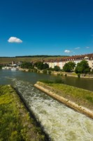 City viewed from Old Main Bridge, Wurzburg, Lower Franconia, Bavaria, Germany by Panoramic Images - various sizes
