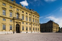 Facade of a palace, Wurzburg Residence, Wurzburg, Lower Franconia, Bavaria, Germany by Panoramic Images - various sizes, FulcrumGallery.com brand