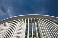 Low angle view of a concert hall, Philharmonie Luxembourg, Kirchberg Plateau, Luxembourg City, Luxembourg by Panoramic Images - various sizes, FulcrumGallery.com brand