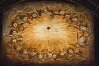 Il Gesu ceiling detail, Church of the Gesu, Rome, Lazio, Italy by Panoramic Images - various sizes, FulcrumGallery.com brand