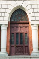 Low angle view of a museum, Haerbin New Synagogue, Harbin, Heilungkiang Province, China Fine Art Print