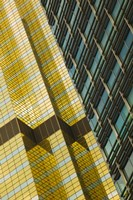 Detail of a building, Pudong, Shanghai, China Fine Art Print