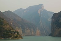 Mountains at the riverside, Yangtze River, Chongqing Province, China by Panoramic Images - various sizes