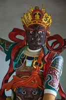 Temple guardian statue, Bamboo Temple, Kunming, Yunnan Province, China by Panoramic Images - various sizes - $54.99