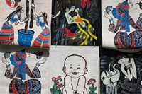Fabric Items, Dali, Yunnan Province, China by Panoramic Images - various sizes, FulcrumGallery.com brand