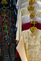 Local shirts for sale, Dali, Yunnan Province, China by Panoramic Images - various sizes