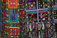 Fabrics for Sale, Dali, Yunnan Province, China by Panoramic Images - various sizes, FulcrumGallery.com brand