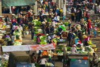 People at a traditional town market, Xizhou, Erhai Hu Lake Area, Yunnan Province, China by Panoramic Images - various sizes - $54.99