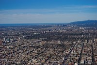 Aerial view of Downtown Los Angeles, Los Angeles, California by Panoramic Images - various sizes