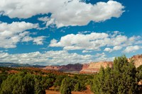 Clouds Over Capitol Reef National Park