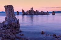 Tufa formations at Sunset, Mono Lake, California by Panoramic Images - various sizes