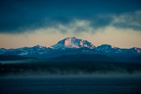 Lake with mountains in the background, Mt Lassen, Lake Almanor, California, USA by Panoramic Images - various sizes