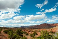 Clouds over an arid landscape, Capitol Reef National Park, Utah by Panoramic Images - various sizes