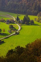 Frahan Village Farmhouset, Semois, Ardennes, Belgium by Panoramic Images - various sizes