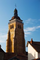 Low angle view of a church, Eglise Saint-Just d'Arbois, Arbois, Jura, Franche-Comte, France by Panoramic Images - various sizes, FulcrumGallery.com brand