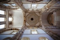 Low angle view of ceiling of an abbey, Cluny Abbey, Maconnais, Saone-et-Loire, Burgundy, France by Panoramic Images - various sizes