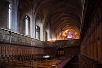Abbatiale Saint-Robert, Auvergne, France by Panoramic Images - various sizes - $54.99