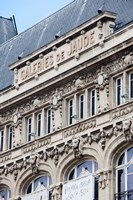 Facade of a department store, Place de Jaude, Clermont-Ferrand, Auvergne, Puy-de-Dome, France by Panoramic Images - various sizes, FulcrumGallery.com brand