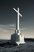 Cross on Mont St-Clair, Sete, Herault, Languedoc-Roussillon, France by Panoramic Images - various sizes