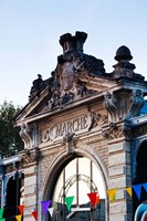 Detail of the covered market, Narbonne, Aude, Languedoc-Roussillon, France by Panoramic Images - various sizes, FulcrumGallery.com brand
