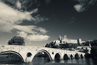 Pont Vieux Bridge, Beziers, Herault, Languedoc-Roussillon, France by Panoramic Images - various sizes
