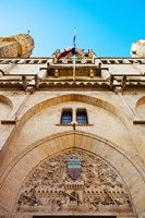 Town hall at Place de l'Hotel de Ville, Narbonne, Aude, Languedoc-Roussillon, France by Panoramic Images - various sizes, FulcrumGallery.com brand