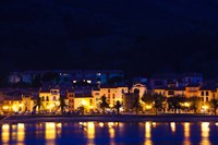 Buildings at the waterfront, Collioure, Vermillion Coast, Pyrennes-Orientales, Languedoc-Roussillon, France by Panoramic Images - various sizes