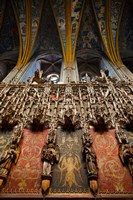 Interiors of Cathedrale Sainte-Cecile, Albi, Tarn, Midi-Pyrenees, France by Panoramic Images - various sizes