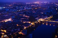 Mont St-Cyr at Dawn, Cahors, Lot, Midi-Pyrenees, France by Panoramic Images - various sizes