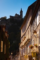 Buildings in a town, Rocamadour, Lot, Midi-Pyrenees, France by Panoramic Images - various sizes