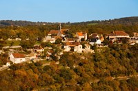 Overview of L'Hospitalet village, Rocamadour, Lot, Midi-Pyrenees, France by Panoramic Images - various sizes
