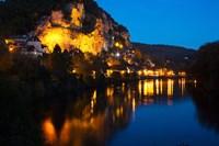 Dordogne River, La Roque-Gageac, Dordogne, Aquitaine, France by Panoramic Images - various sizes, FulcrumGallery.com brand