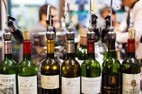 Wine tasting, Saint-Emilion, Gironde, Aquitaine, France by Panoramic Images - various sizes