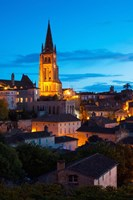 Eglise Monolithe Church at Dawn, Saint-Emilion, Gironde, Aquitaine, France by Panoramic Images - various sizes